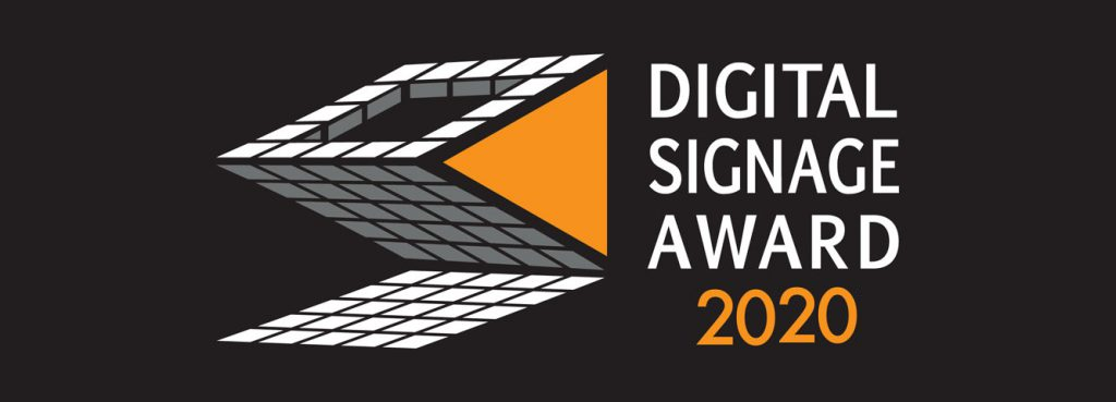 DIGITAL SIGNAGE AWARD 2020